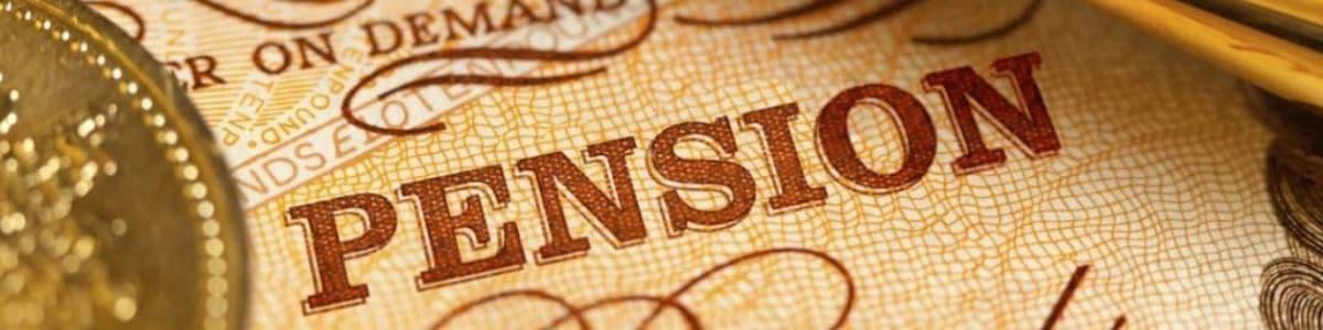 cash in a pension