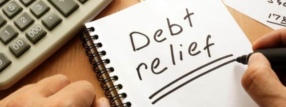 What is a debt relief order?